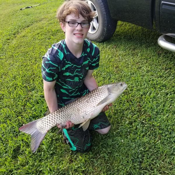 20.7 lbs  caught by Kolton Mooney