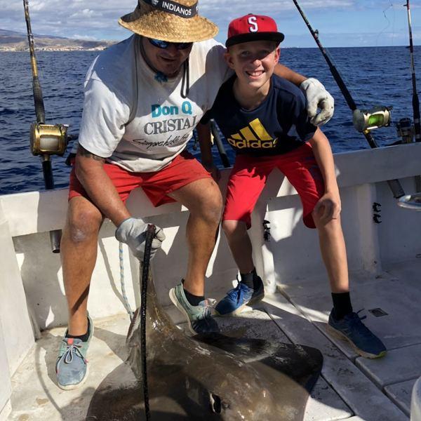 88.18 lbs Atlantic stingray caught by Anders Brännström