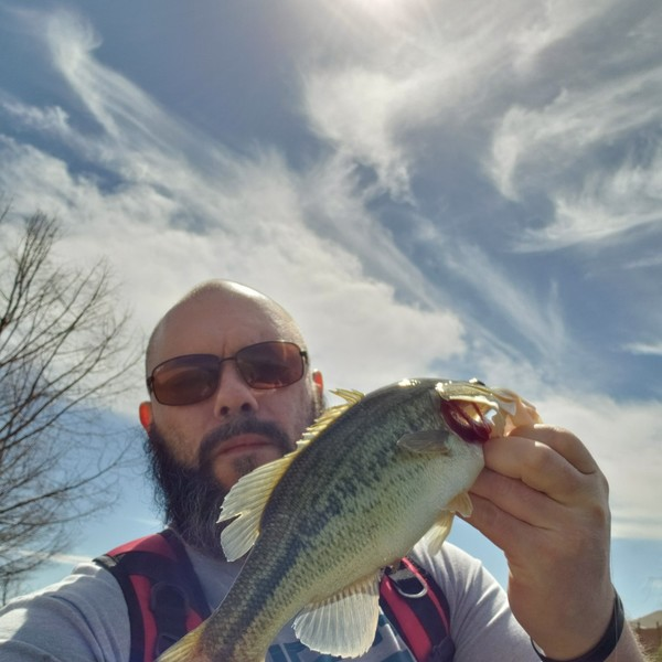 1.63 lbs / 14 in Largemouth bass caught by Jacob Mentink