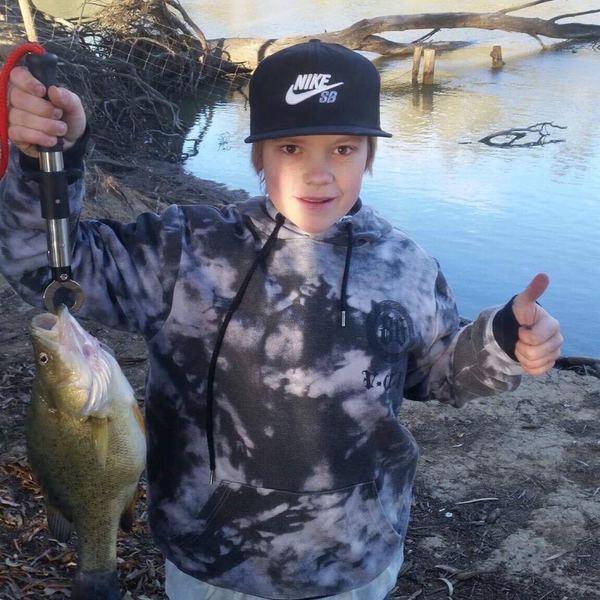 Murray cod caught by Cody Deicmanis