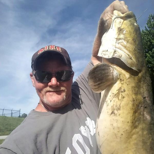 34 Lbs 39 In Flathead Catfish Caught By Ryan Aldrich