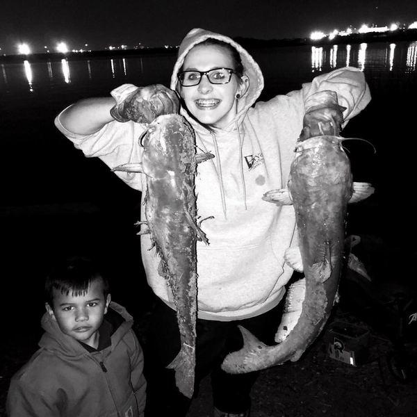 Blue catfish caught by Chelsey Maldonado