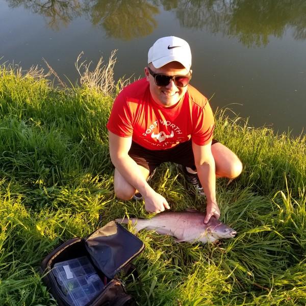 6 lbs Blue catfish caught by James Barrett