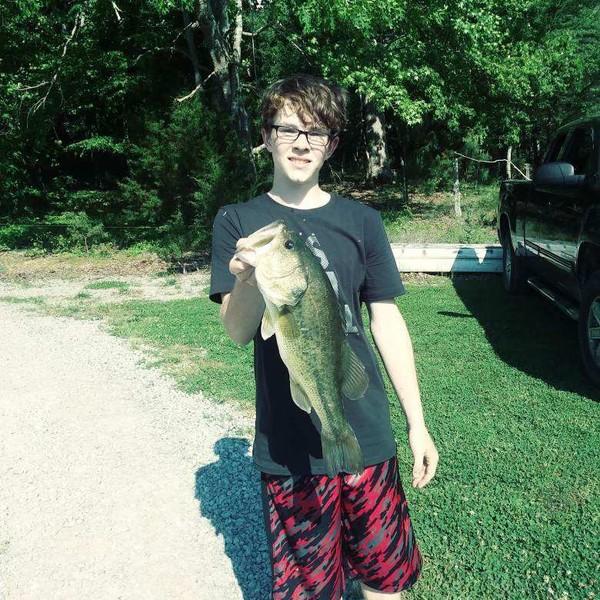4.6 lbs  caught by Kolton Mooney