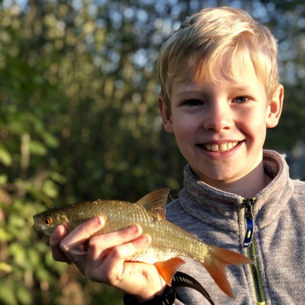 Rudd caught by FishingFamily UK
