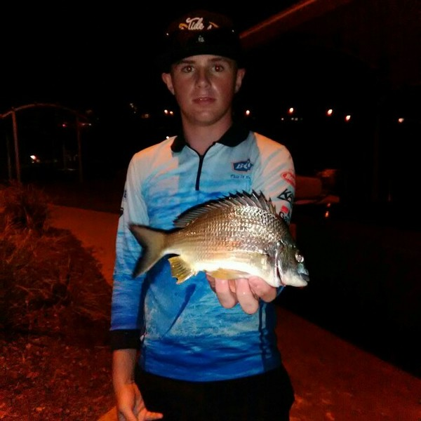 10 in Surf bream caught by Isaac Reardon