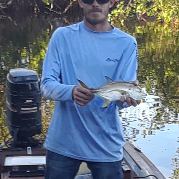 10 in Crevalle jack caught by Jacob Middleton