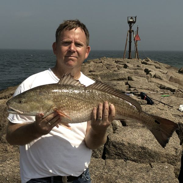 Red drum caught by Roger Smart