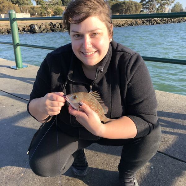 Australasian snapper caught by JessMary McInnes