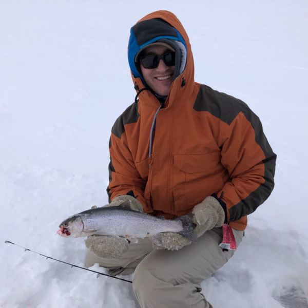 Rainbow trout caught by Jared  Baker