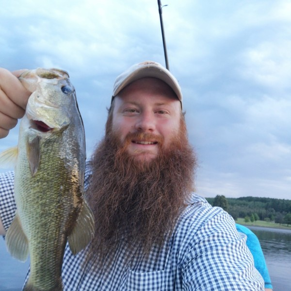 1 lbs Largemouth bass caught by Jacques Swanepoel