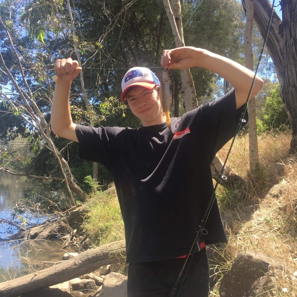 River blackfish caught by Barefoot Hunting 'n' Fishing