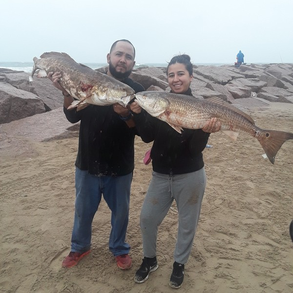 37 in Red drum caught by Marin Diaz