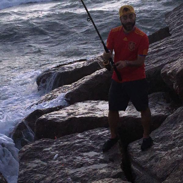 10.06 lbs / 10 in Hardhead sea catfish caught by Daniel  Sampayo
