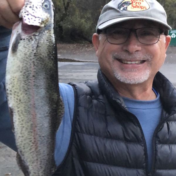 Skamania trout caught by Dave Wijtman
